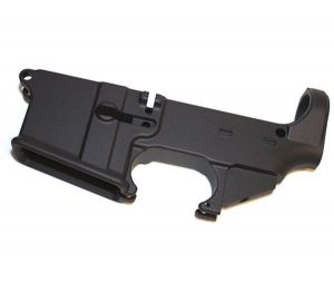 AR-15 80% Lower Receiver - Black Anodized