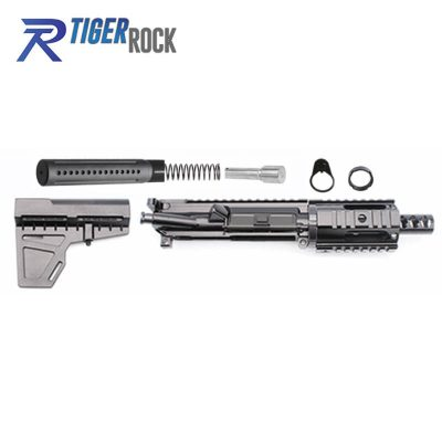 AR 9MM Pistol Build Kit w/ Shockwave Blade Kit &  4″ Quad Rail