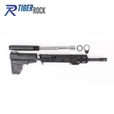 AR 9MM 7.5″ Pistol Build Kit with Shavewave Stock Kit & USA Made 3.75″ Handguard
