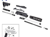 AR 7.62×39 Rifle Kit with LPK and 10″ Quad Rail