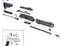 AR 7.62×39 Rifle Kit with LPK and 10″ Keymod Super Slim Handguard