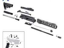 AR 7.62×39 Rifle Kit with LPK and 12″ Keymod Super Slim Handguard