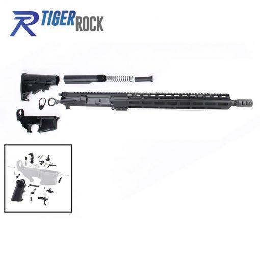"AR .300 Blackout Rifle Build Kit with 15"" M-Lok Custom USA Made Handguard and 16"" Barrel"