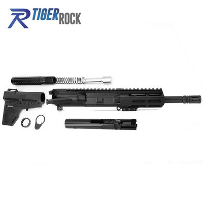 AR 9MM 7.5″ Pistol Build Kit with Shavewave Stock Kit, BCG & USA Made 4.5″ M-Lok Handguard