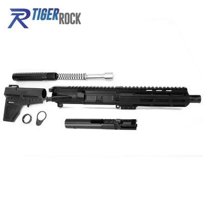 AR 9MM 7.5″ Pistol Build Kit with Shavewave Stock Kit, BCG & USA Made 7″ M-Lok Handguard