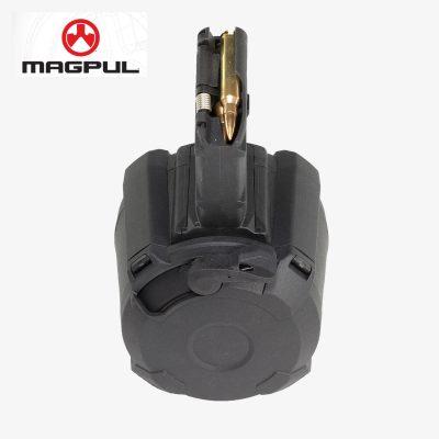 Magpul PMAG D-60® AR/M4 5.56 60 Round Black 60-round 5.56×45 NATO/.223 Remington polymer drum magazine