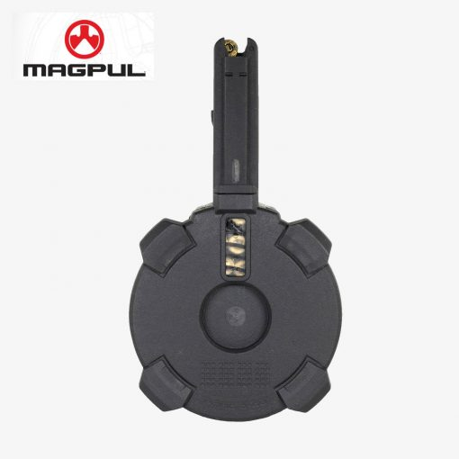 Magpul PMAG D-60-round 5.56x45 NATO/.223 Remington* polymer drum magazine for AR15/M4 compatible weapons