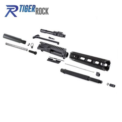 AR-15 14″ Pistol Barrel Kit w/ 12″ Free Float Quad Rail