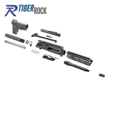 AR 9MM 7.5″ Pistol Kit with Shavewave Stock Kit & USA Made 7″ M-Lok Handguard