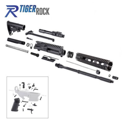 AR-15 Rifle Kit with Lower Part Kit and BCG