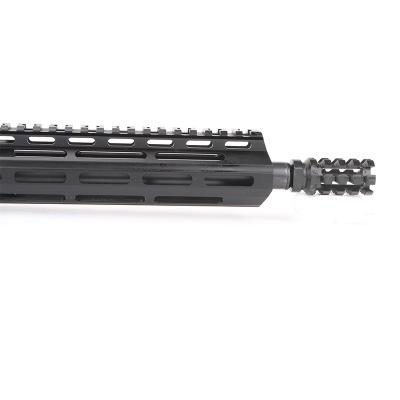 AR15 5.56 NATO 16″ CARBINE LENGTH 1:8 TWIST W/15″ M-LOK USA MADE HANDGUARD – COMPLETE UPPER