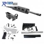 AR-15 Rifle Build Kit with LPK and 80% Black Lower