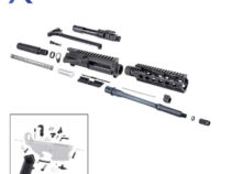 AR-15 5.56 NATO 10.5″ Pistol Kit with Bolt Carrier Group, Upper Receiver and LPK