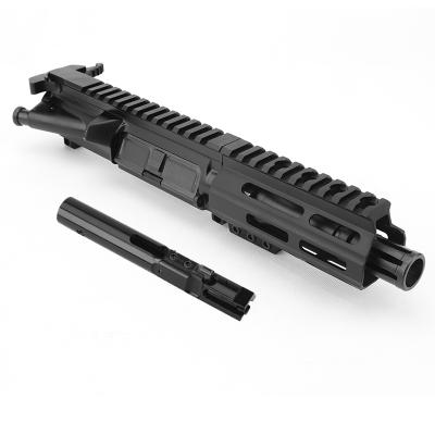 AR 9MM 4.5″ PISTOL LENGTH 1:10 TWIST W/ 4.5″ M-LOK HANDGUARD – COMPLETE UPPER