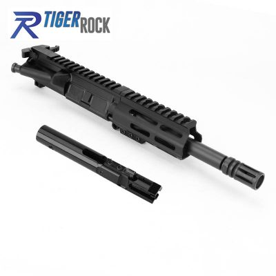 AR 9MM 7.5″ PISTOL LENGTH 1:10 TWIST W / 4.5″ M-LOK HANDGUARD – COMPLETE UPPER