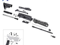 AR-15 Rifle Kit with LPK and 10″ Keymod Super Slim Handguard