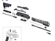 AR-15 Rifle Kit with LPK and 15″ Keymod Super Slim Handguard