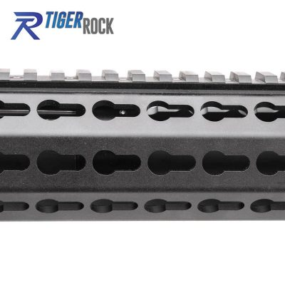 AR15 5.56 NATO 16″ CARBINE LENGTH 1:7 TWIST W/12″ KEYMOD HANDGUARD & FLIP UP SIGHTS – UPPER ASSEMBLY