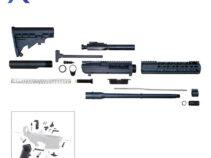 """.308 Rifle Kit 16"""" DPMS Style Rifle Kit w/ 10"""" Keymod Handguard – Unassembled"""