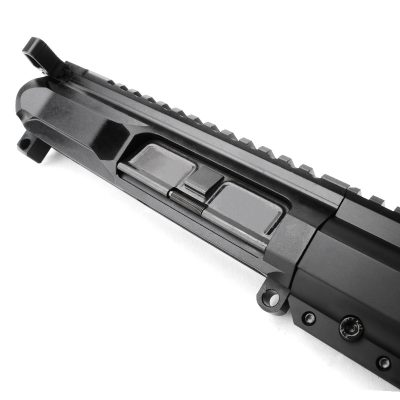 AR15 5.56 NATO 16″ CARBINE LENGTH 1:9 TWIST W/12″ HYBRID KEYMOD HANDGUARD – UPPER ASSEMBLY
