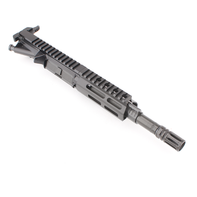AR .300 BLK 7.5″ PISTOL LENGTH 1:7 TWIST W/ 4.5″ M-LOK HANDGUARD – COMPLETE UPPER