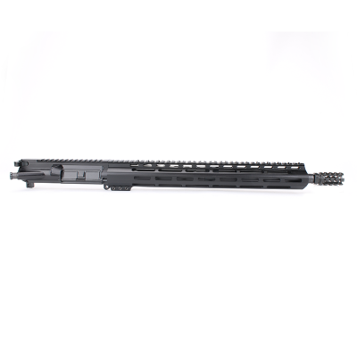 AR15 5.56 NATO 16″ CARBINE LENGTH 1:8 TWIST W/15″ M-LOK USA MADE HANDGUARD – COMPLETE UPPER