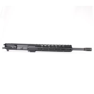 AR15 5.56 NATO 16″ CARBINE LENGTH 1:7 TWIST W/12″ M-LOK USA MADE HANGGUARD – COMPLETE UPPER