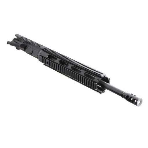 "AR .300 BLK 16"" PISTOL LENGTH 1:8 TWIST W/ 12"" QUAD RAIL HANDGUARD - UPPER ASSEMBLY"
