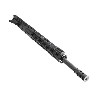 AR .300 BLK 16″ PISTOL LENGTH 1:8 TWIST W/ 12″ HYBRID KEYMOD HANDGUARD – UPPER ASSEMBLY