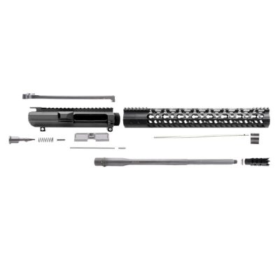 "AR10 .308 20"" RIFLE LENGTH 1:10 TWIST W/ 15"" KEYMOD HANDGUARD – – UPPER ASSEMBLY"