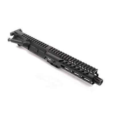 AR-9mm 7.5″ PISTOL LENGTH 1:10 TWIST W/ 7″ SUPER SLIM M-LOK HANDGUARD – UPPER ASSEMBLY