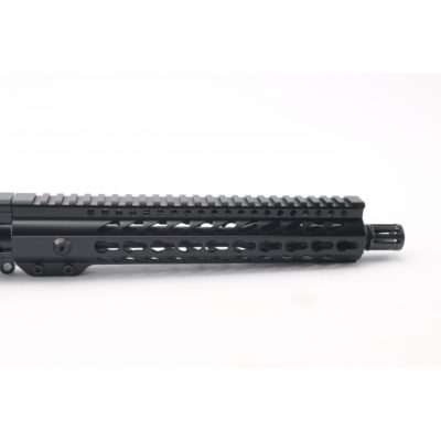 "AR15 5.56 NATO 10.5"" CARBINE LENGTH 1:7 TWIST W/10"" SUPER SLIM KEYMOD HANDGUARD – UPPER ASSEMBLY"