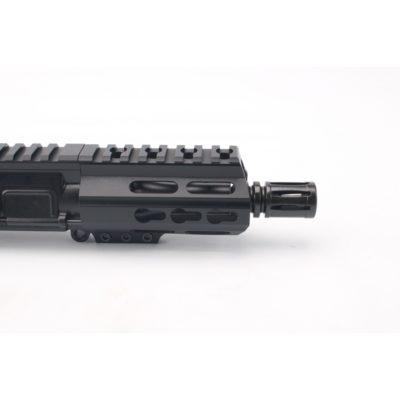 AR 9MM 4.5″ PISTOL LENGTH 1:10 TWIST W / 3.75″ M-LOK HANDGUARD – UPPER ASSEMBLY