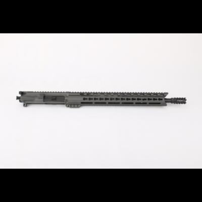 AR15 5.56 NATO 16″ CARBINE LENGTH 1:7 TWIST W/15″ KEYMOD (GRAY) HANDGUARD – COMPLETE UPPER