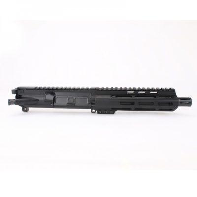 AR 9MM 7.5″ PISTOL LENGTH 1:10 TWIST W / 7″ M-LOK HANDGUARD – COMPLETE UPPER