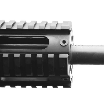 "AR15 .223 WYLDE 14.5"" PISTOL LENGTH 1:8 TWIST W/ 12″ FREE FLOAT QUAD RAIL HANDGUARD – UPPER ASSEMBLY"
