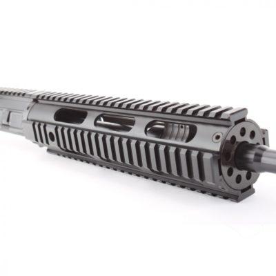 AR15 5.56 NATO 16″ CARBINE LENGTH 1:7 TWIST W/ 10″ QUAD RAIL HANDGUARD- UPPER ASSEMBLY