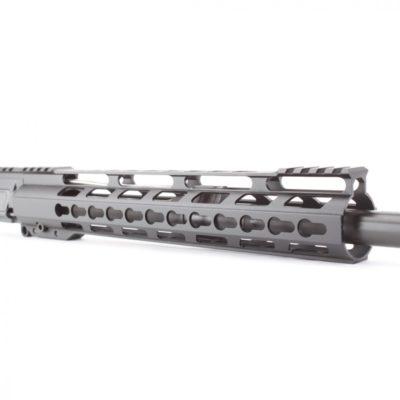 AR15 5.56 NATO 16″ CARBINE LENGTH 1:7 TWIST W/12″ HYBRID KEYMOD HANDGUARD – UPPER ASSEMBLY