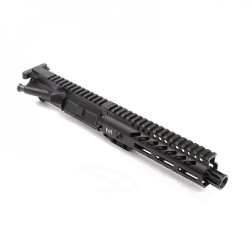 "AR-9mm 7.5"" PISTOL LENGTH 1:10 TWIST W/ 7"" SUPER SLIM M-LOK HANDGUARD - UPPER ASSEMBLY"