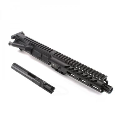 AR-9mm 7.5″ PISTOL LENGTH 1:10 TWIST W/ 7″ SUPER SLIM M-LOK HANDGUARD – COMPLETE UPPER