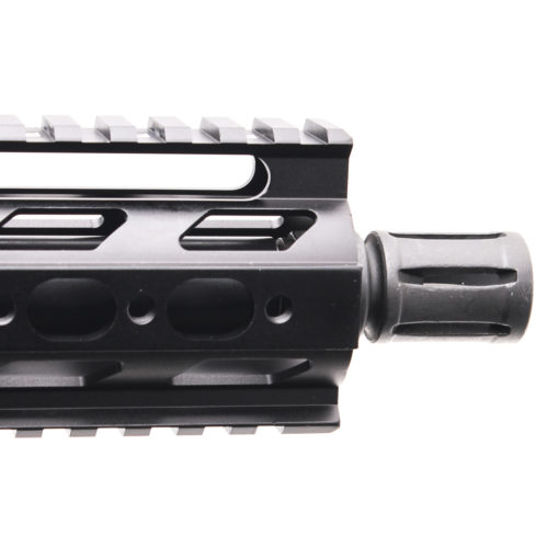 """AR-9mm 7.5"""" PISTOL LENGTH 1:10 TWIST W/ 7"""" SUPER SLIM QUAD RAIL HANDGUARD  - UPPER ASSEMBLY"""
