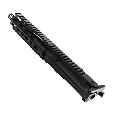 AR .300 BLK 10″ PISTOL LENGTH 1:7 TWIST W/ 7″ SUPER SLIM QUAD RAIL HANDGUARD – COMPLETE UPPER