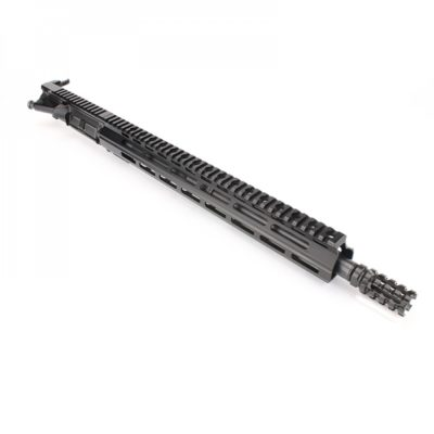 AR15 5.56 NATO 16″ CARBINE LENGTH 1:8 TWIST W/ 15″ M-LOK HANDGUARD – UPPER ASSEMBLY (NO BCG)