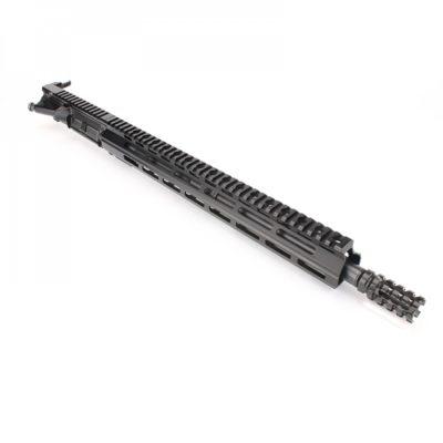 AR15 5.56 NATO 16″ CARBINE LENGTH 1:8 TWIST W/ 15″ M-LOK HANDGUARD – UPPER ASSEMBLY (NO BCG)