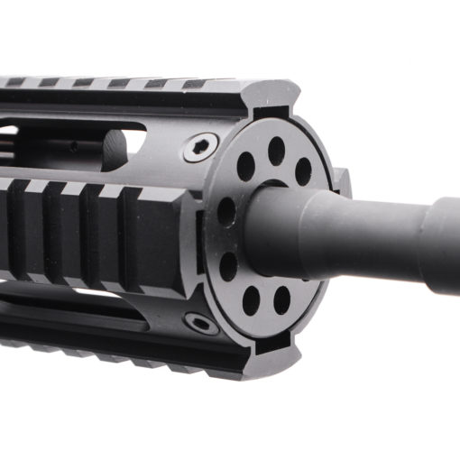 "AR15 5.56 NATO 16"" CARBINE LENGTH 1:7 TWIST W/ QUAD RAIL HANDGUARD - COMPLETE UPPER"