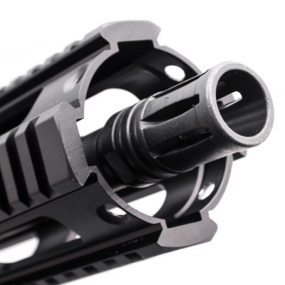 AR 9MM 4.5″ PISTOL LENGTH 1:10″ TWIST W/ 4″ QUAD RAIL HANDGUARD – UPPER ASSEMBLY