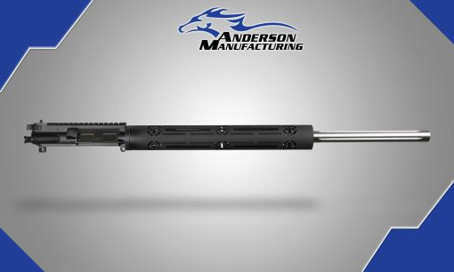 "24"" Stainless Steel Barreled Complete Upper with BCG and Tactical Charging Handle"
