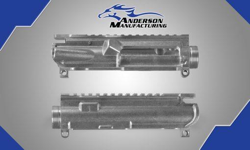 AM-15 Stripped Upper Receiver – Raw Aluminum