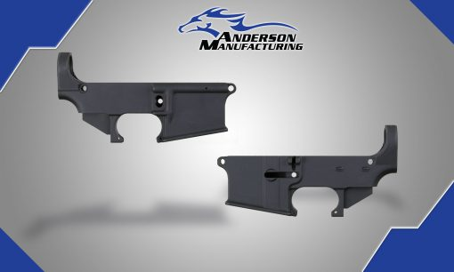AR-15 80% Lower Receiver - Black Anodized