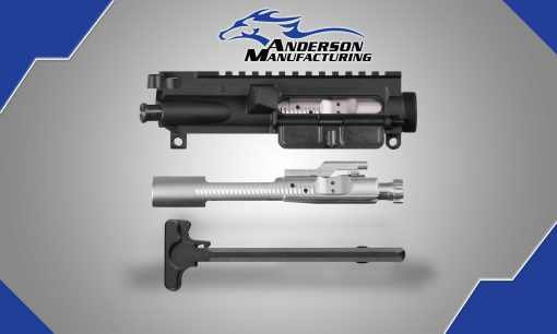 AM-15 Assembled Upper Receiver – With Nickel Boron BCG & Charging Handle